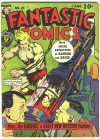 Cover For Fantastic Comics 21