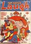 Cover For Top Notch Laugh Comics 34