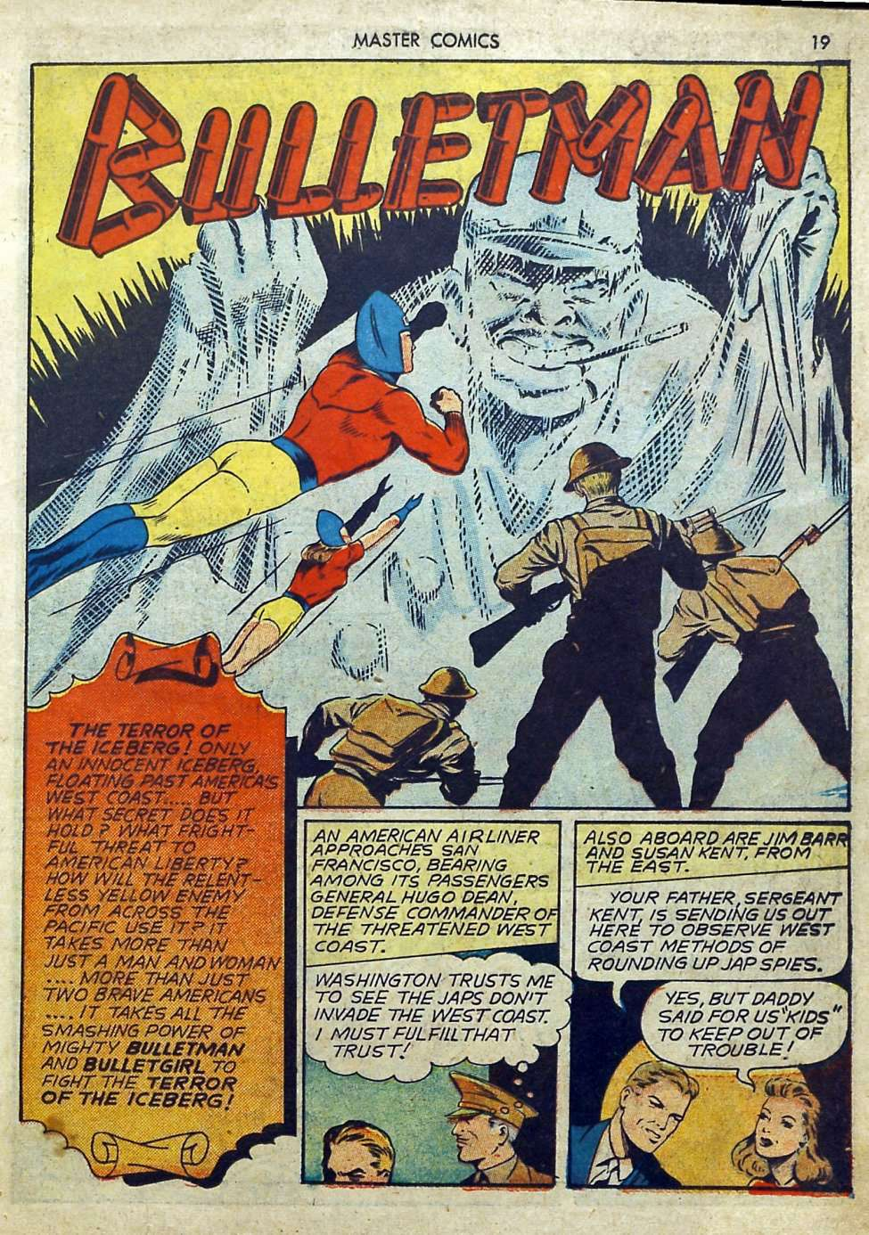 Comic Book Cover For Bulletman Archive Vol 05