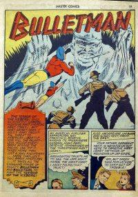 Large Thumbnail For Bulletman Archive Vol 05