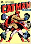 Cover For Cat Man Comics 26a