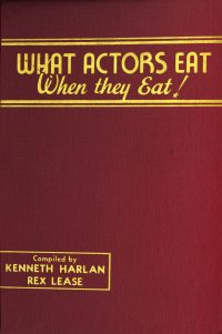 Large Thumbnail For What Actors Eat - When they Eat!