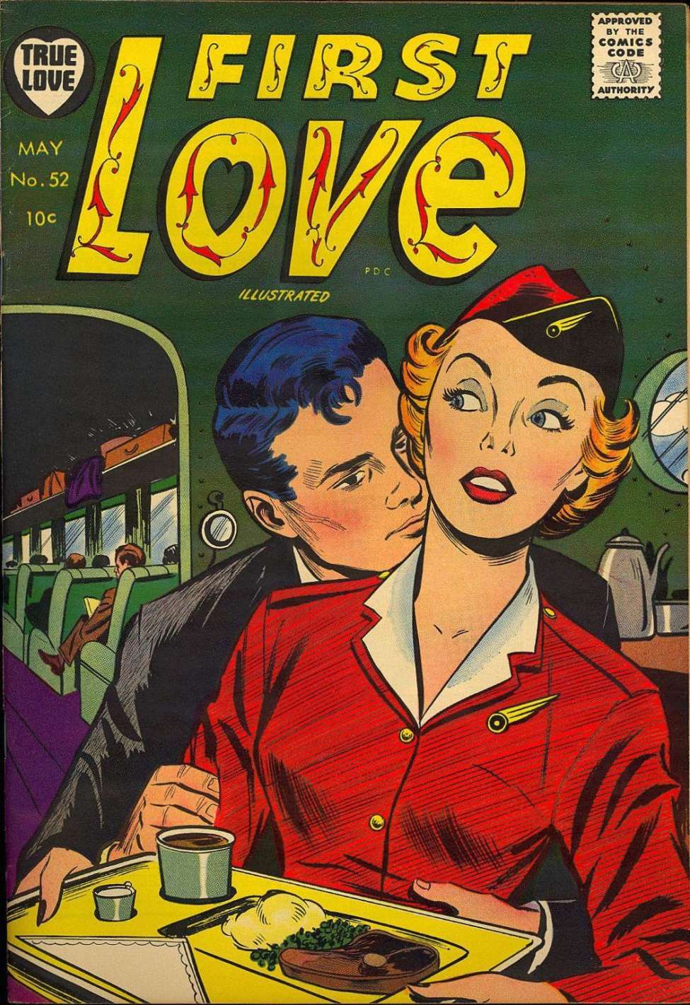 First Illustrated Book Cover ~ First love illustrated version harvey comics