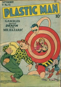 Large Thumbnail For Plastic Man #13