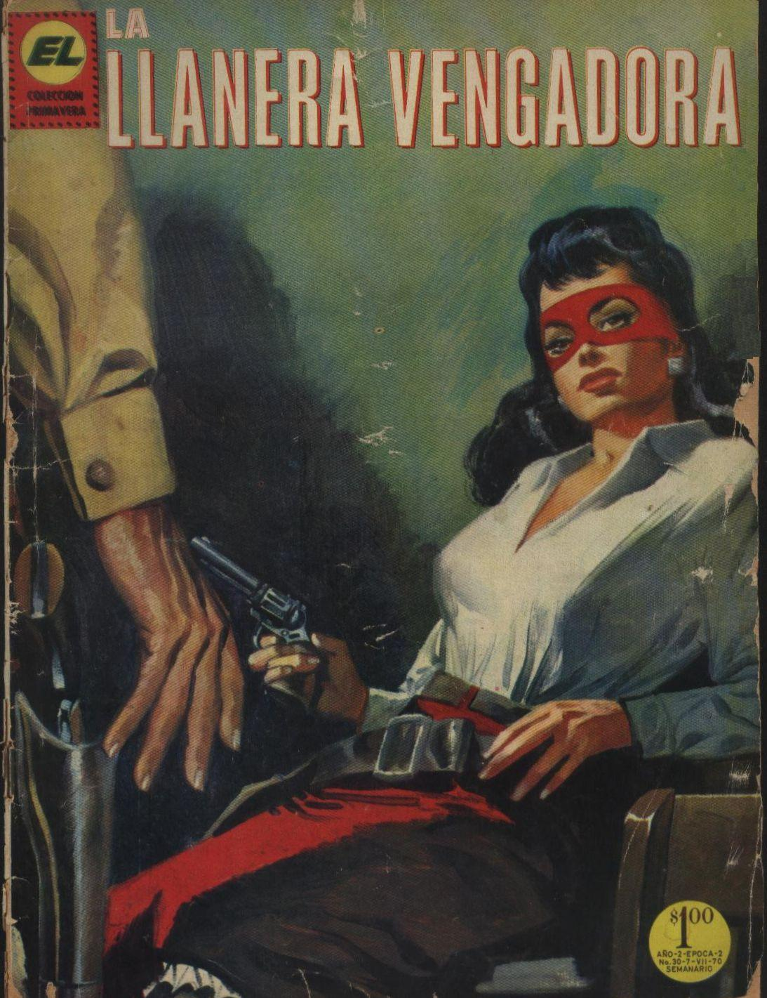 Comic Book Cover For Llanera Vengadora, La 030