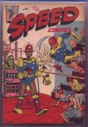 Cover For Speed Comics 43