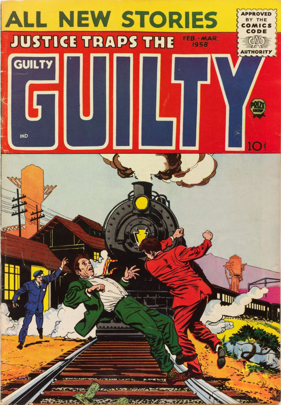 Comic Book Cover For Justice Traps the Guilty v11 1 [91]