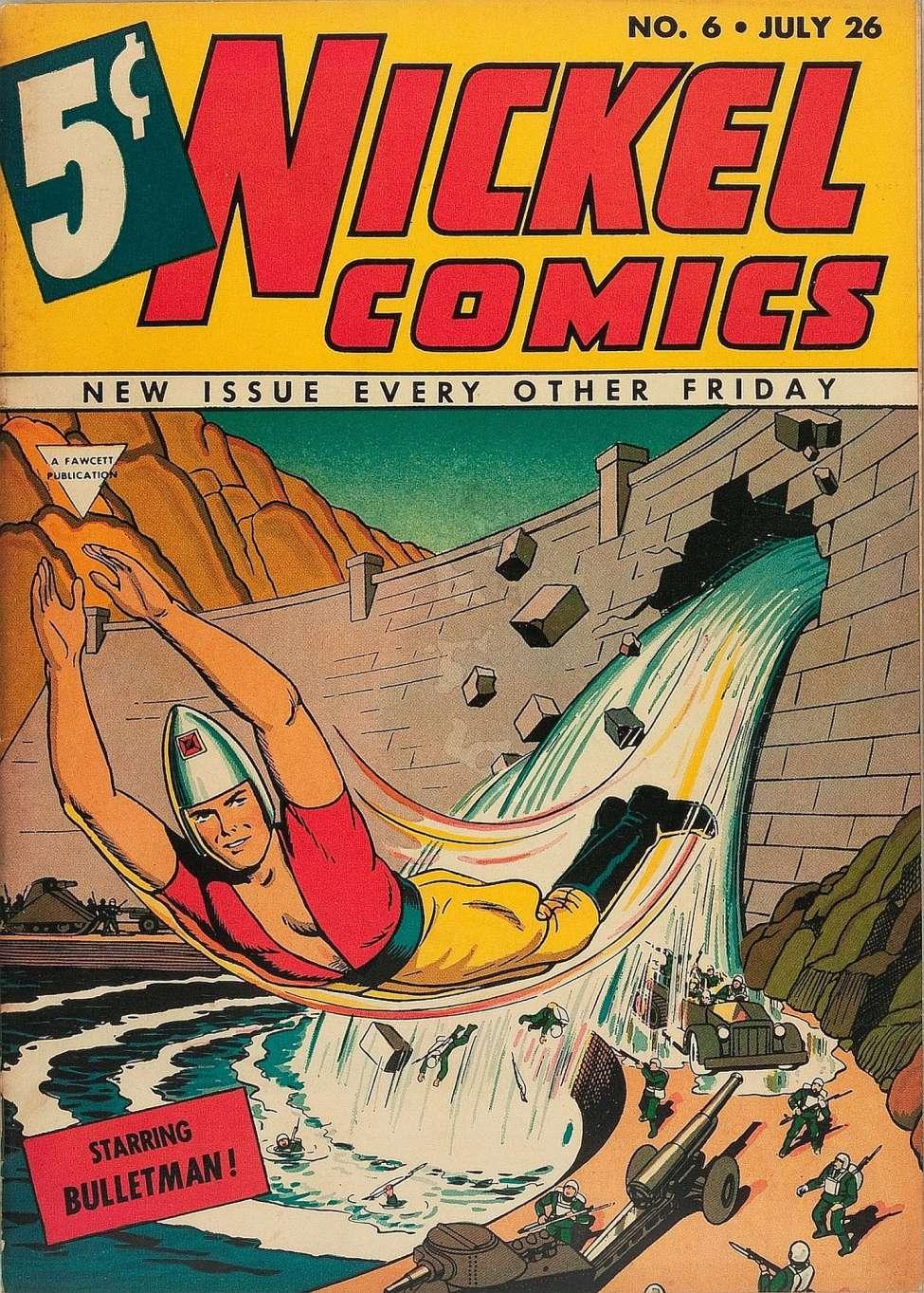 Comic Book Cover For Nickel Comics #6