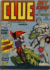 Large Thumbnail For Clue Comics v1 3 [3] - Version 2