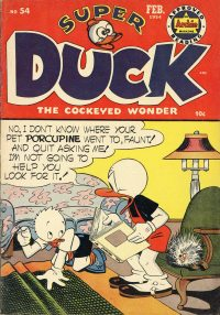 Large Thumbnail For Super Duck Comics #54