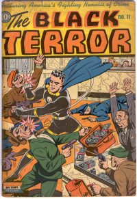 Large Thumbnail For The Black Terror #11