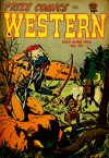 Cover For Prize Comics Western 99