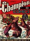 Cover For Champion Comics 6