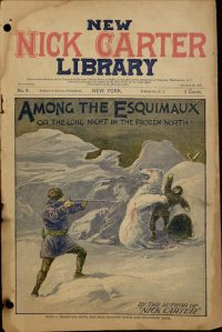 Large Thumbnail For New Nick Carter Library 04 - Trim Among the Esquimaux