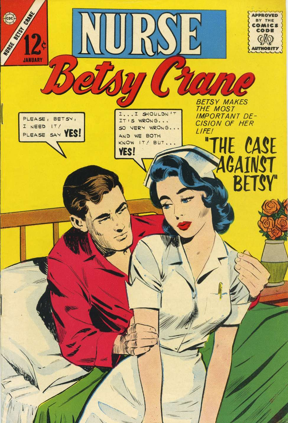 Comic Book Cover For Nurse Betsy Crane 26