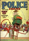 Cover For Police Comics 80