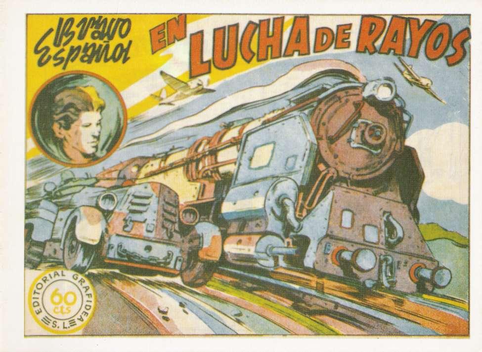 Comic Book Cover For Bravo Español - Lucha de rayos