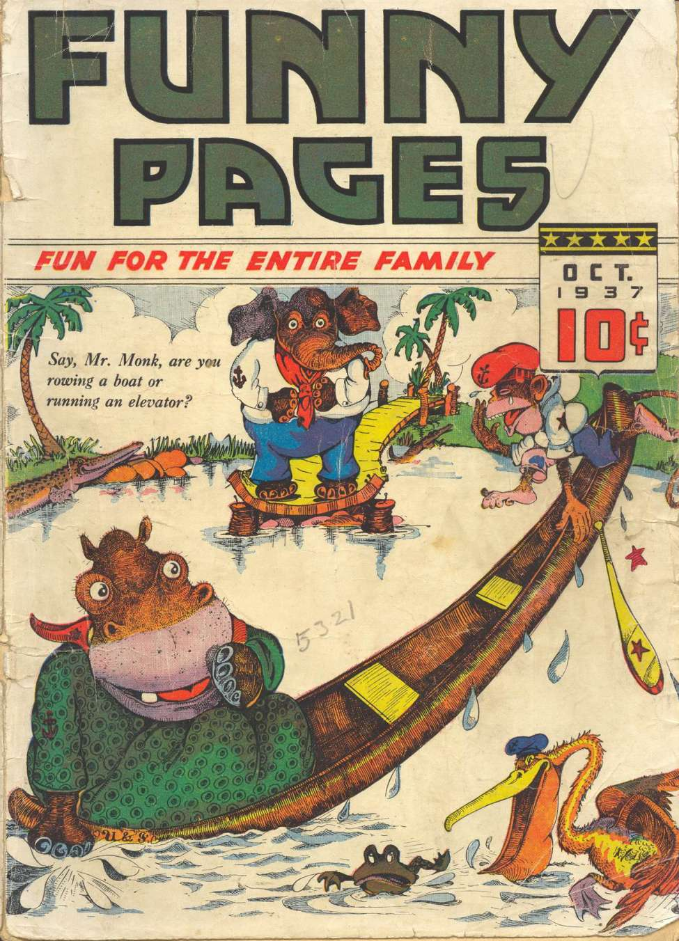 Comic Book Cover For Funny Pages v2 #2