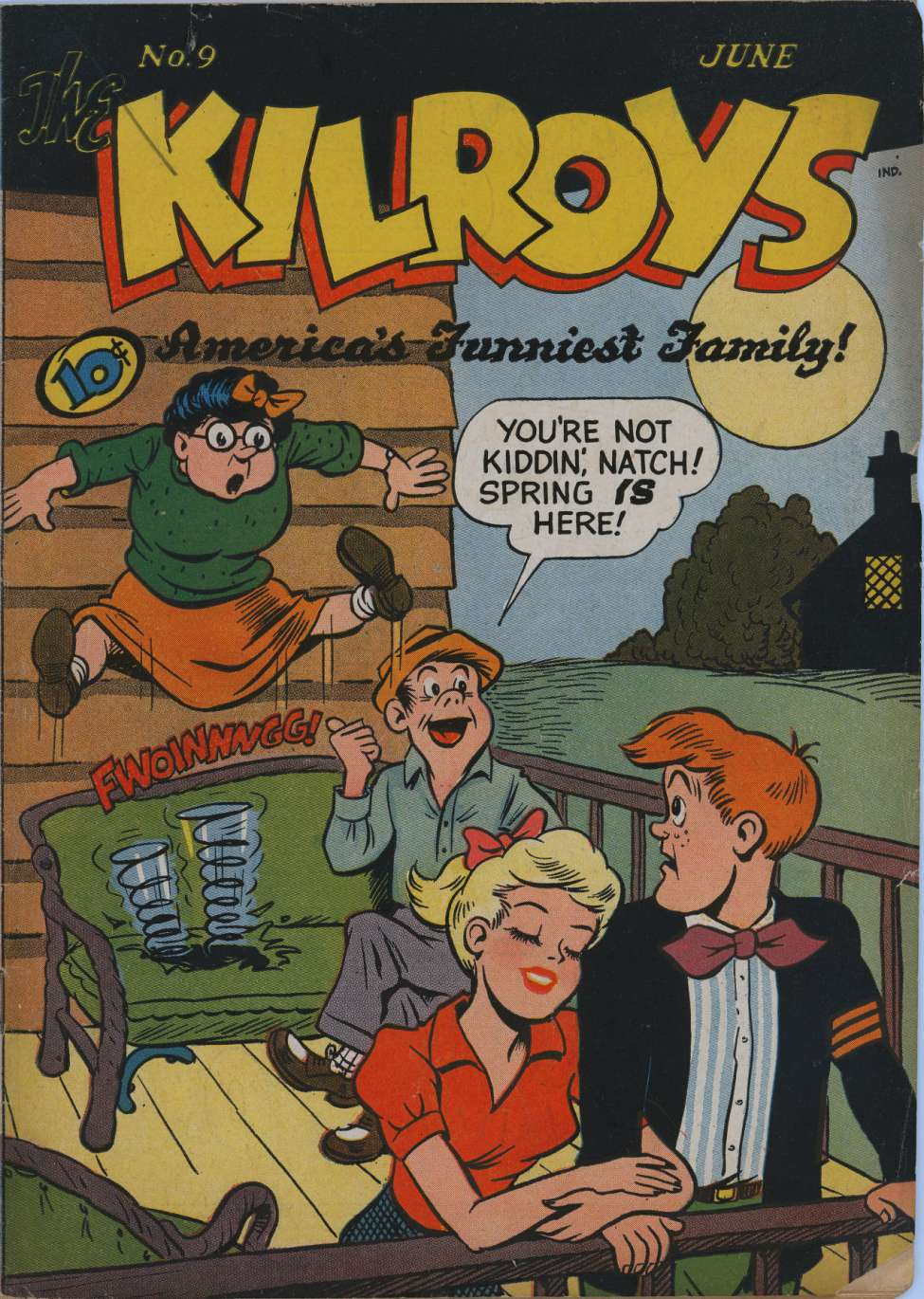 Comic Book Cover For The Kilroys #9