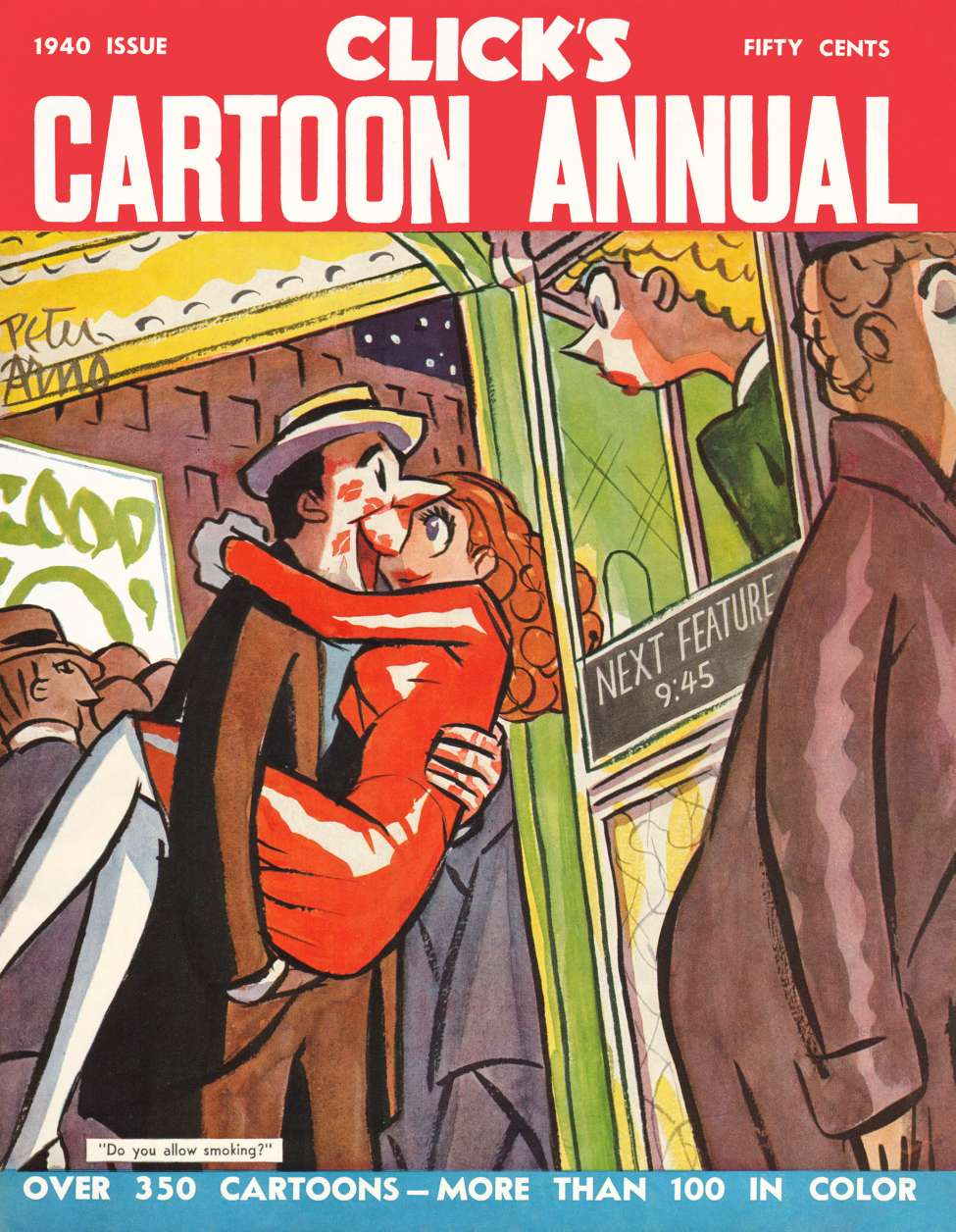 Comic Book Cover For Clicks Cartoon Annual (1940)