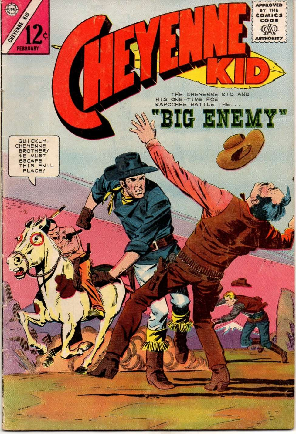 Comic Book Cover For Cheyenne Kid #49