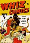 Cover For Capt. Marvel Whiz Archives Vol 2