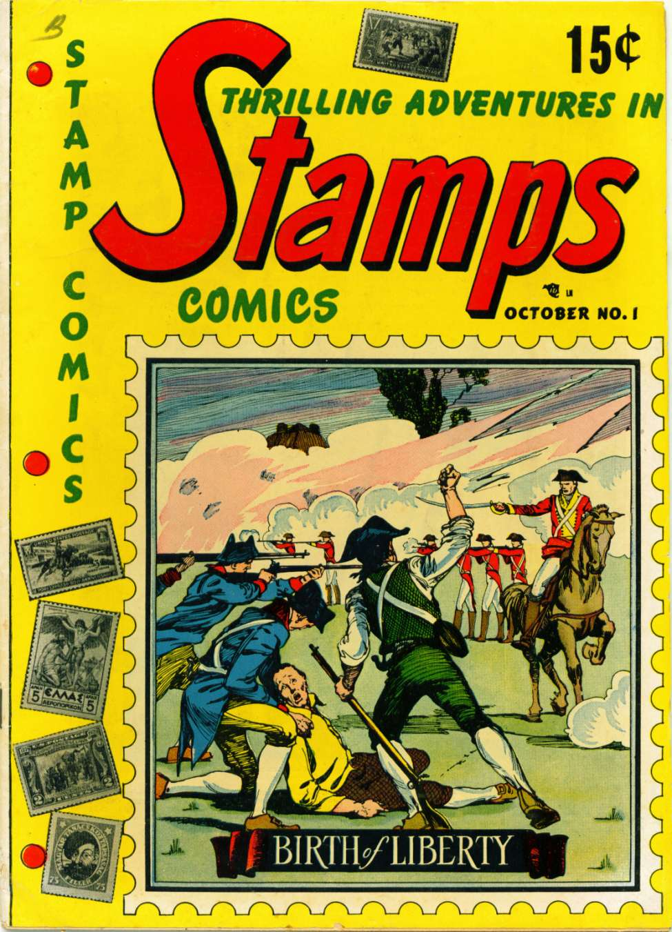 Comic Book Cover For Stamps Comics #1 - Version 1