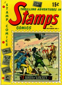 Large Thumbnail For Stamps Comics #1 - Version 1