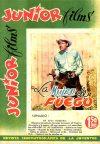 Cover For Junior Films 58 La mujer de fuego