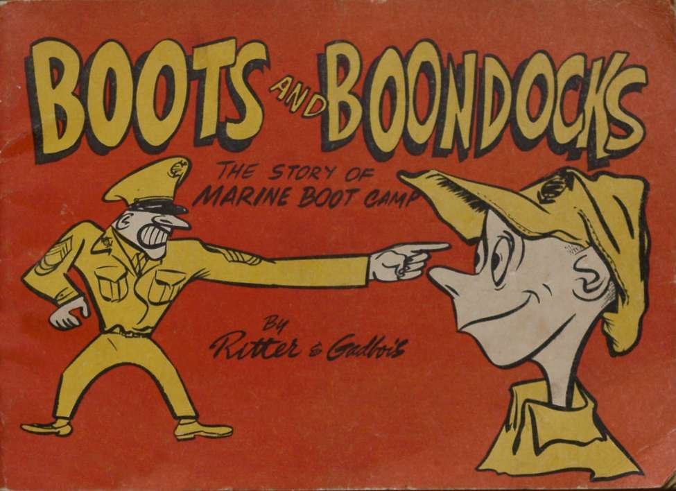 Comic Book Cover For Boots and Boondocks