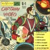 Cover For Captain Video and the Captives of Saturn Coloring Book