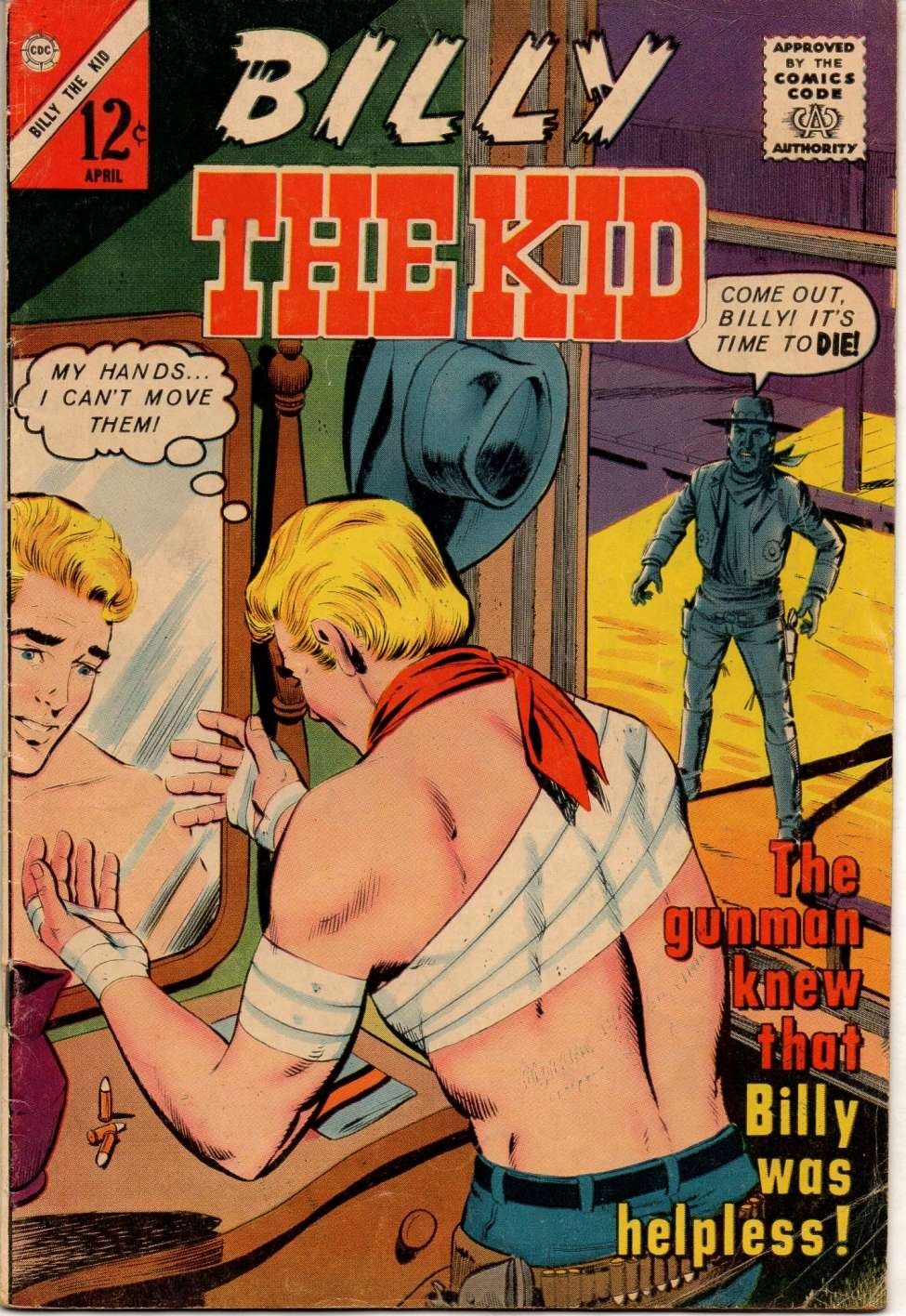 Comic Book Cover For Billy the Kid #39
