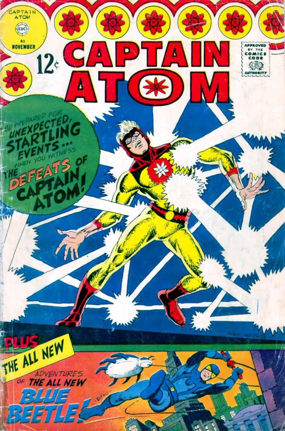 Comic Book Cover For Captain Atom #83