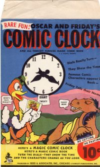 Large Thumbnail For Oscar and Friday's Comic Clock