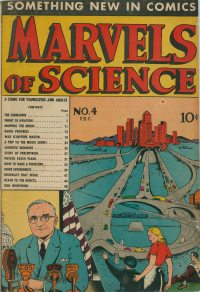 Large Thumbnail For Marvels of Science #4