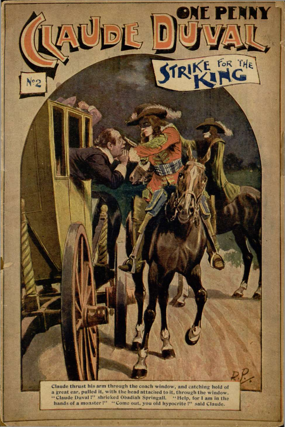 Comic Book Cover For Strike for the King