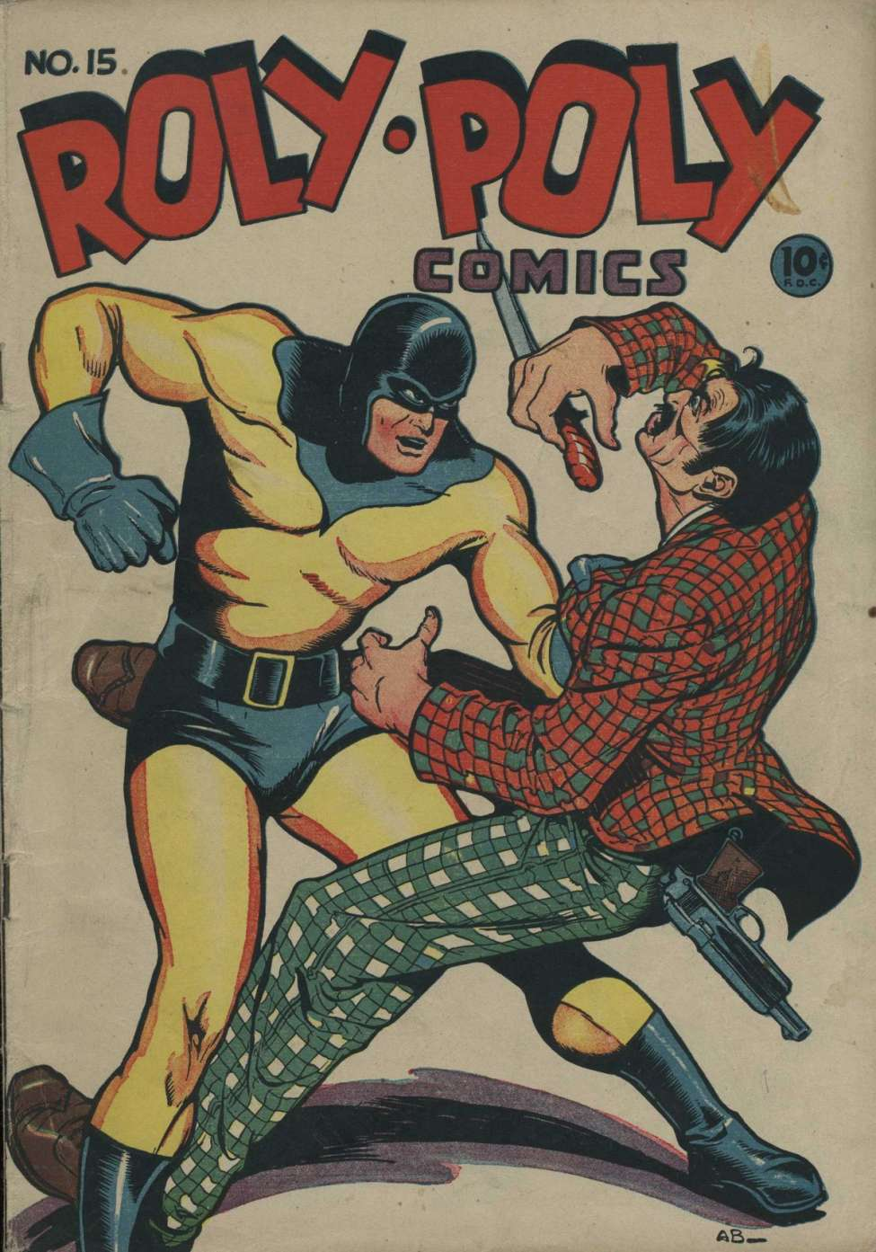 Comic Book Cover For Roly-Poly Comics v2 6 (15)