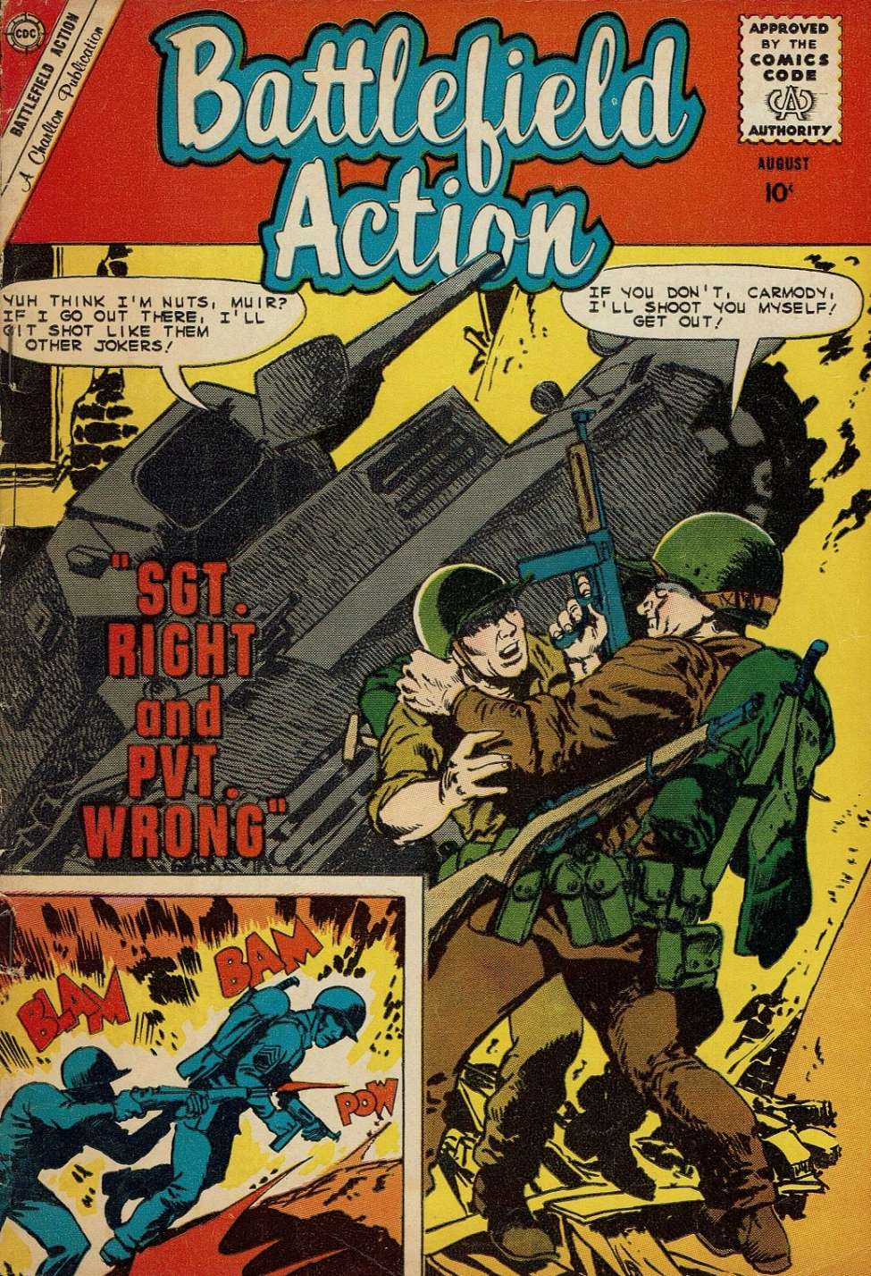 Comic Book Cover For Battlefield Action #31