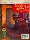 Cover For Sexton Blake Library S3 321 The Crime in Room 37
