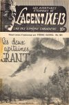 Cover For L'Agent IXE 13 v2 169 Les deux capitaines grant