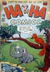 Cover For Ha Ha Comics 73