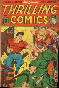 Large Thumbnail For Thrilling Comics #54