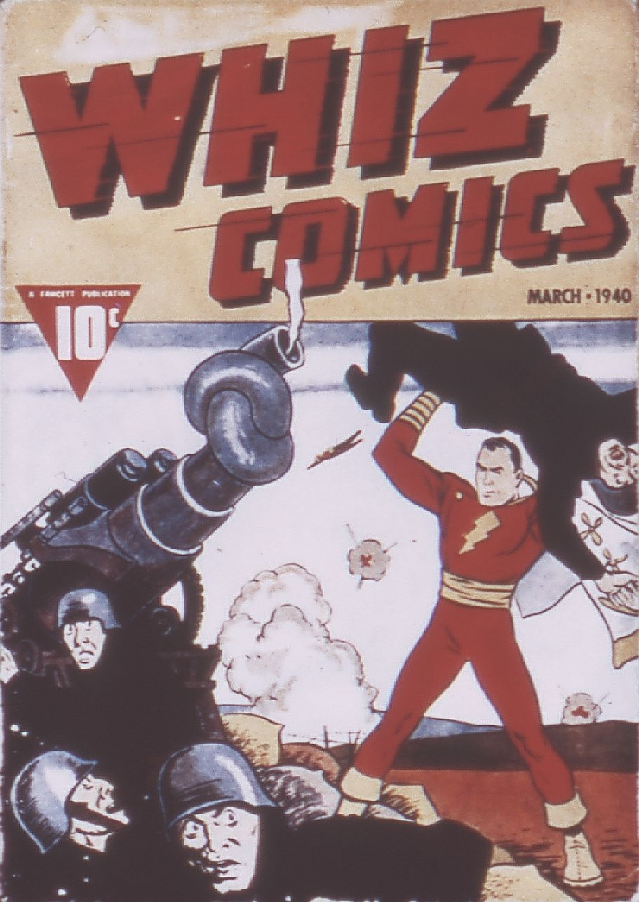 Comic Book Cover For Whiz Comics #3