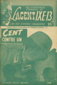 Large Thumbnail For L'Agent IXE-13 v2 011 - Cent contre un