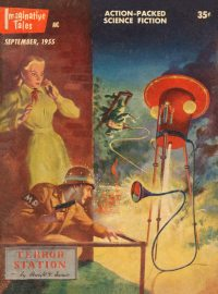 Large Thumbnail For Imaginative Tales v02 01 - Terror Station - Dwight V. Swain