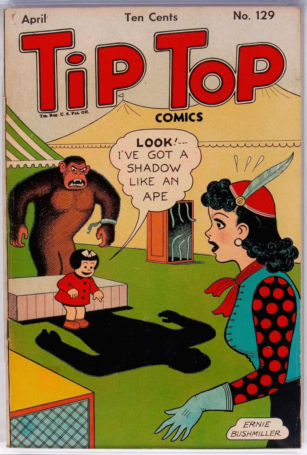 Comic Book Cover For Tip Top Comics 129