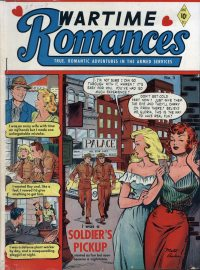 Large Thumbnail For Wartime Romances #5