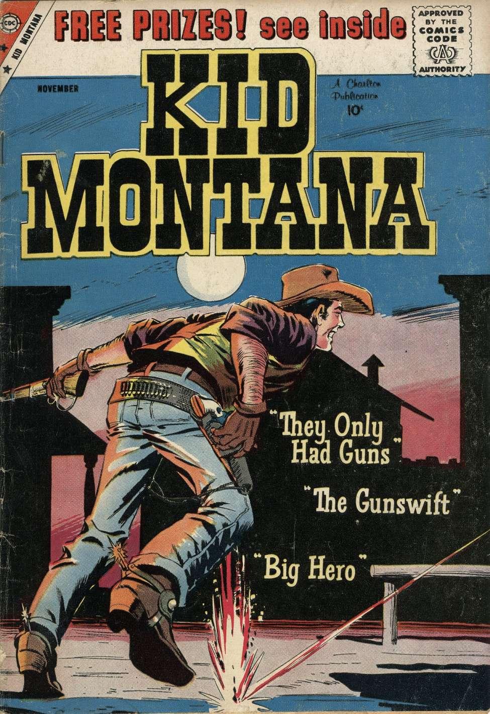 Comic Book Cover For Kid Montana #20