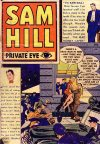 Cover For Sam Hill Private Eye 1