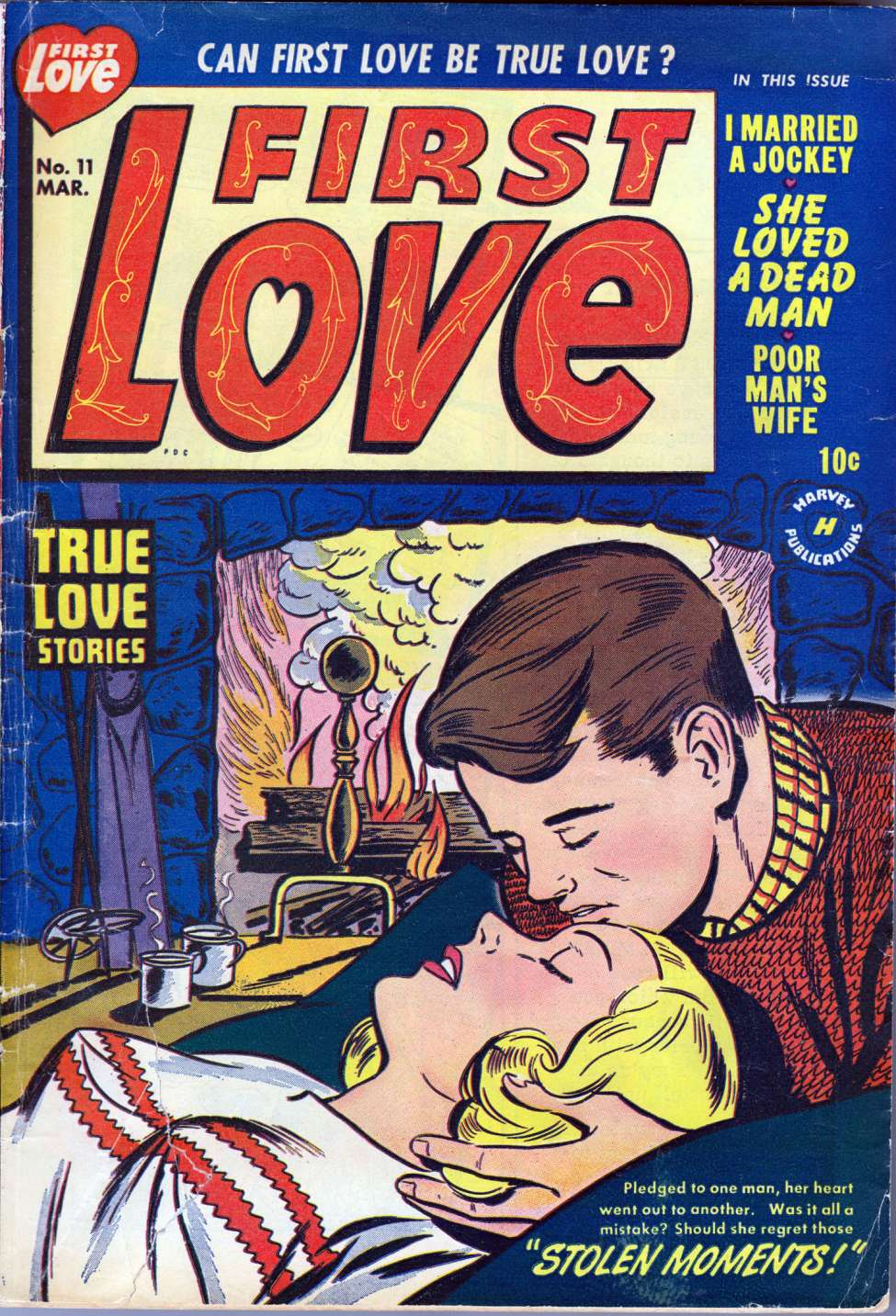 First Illustrated Book Cover ~ First love illustrated harvey comics